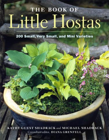 The Book of Little Hostas: book cover